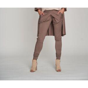 Átlapolt vékony nadrág